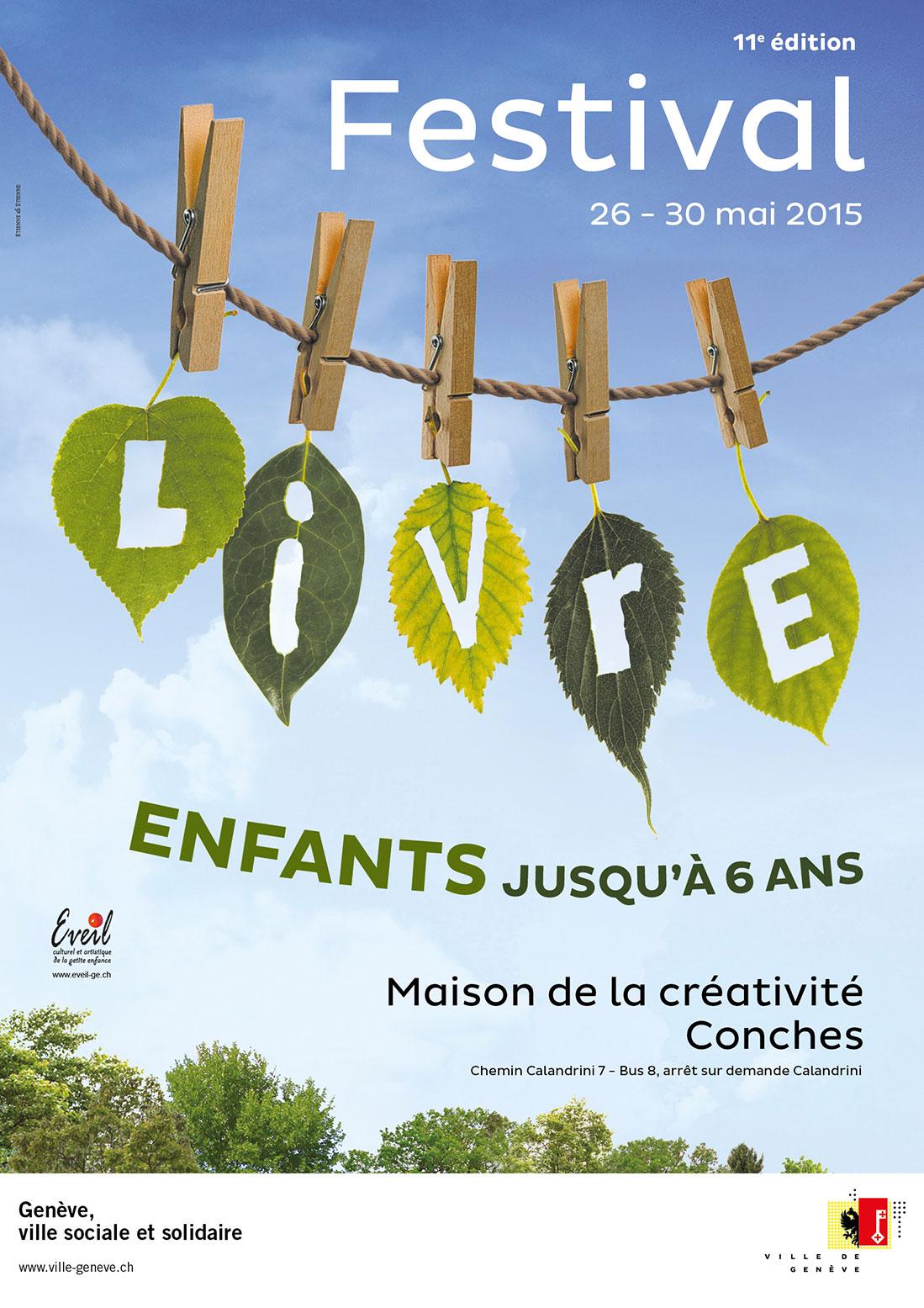 Affiche Du 11e Festival Livres Petite Enfance Et Familles