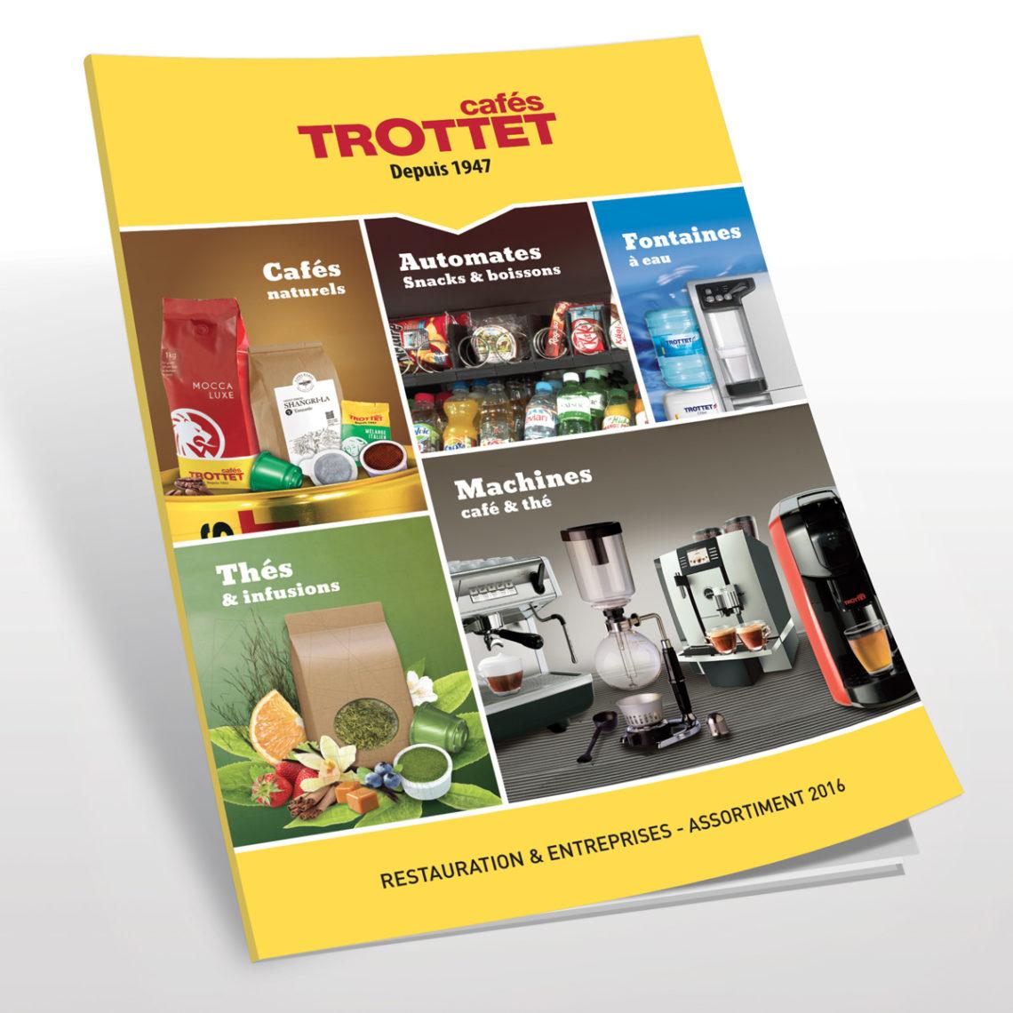 EtienneEtienne réinvente le catalogue professionnel des Cafés Trottet