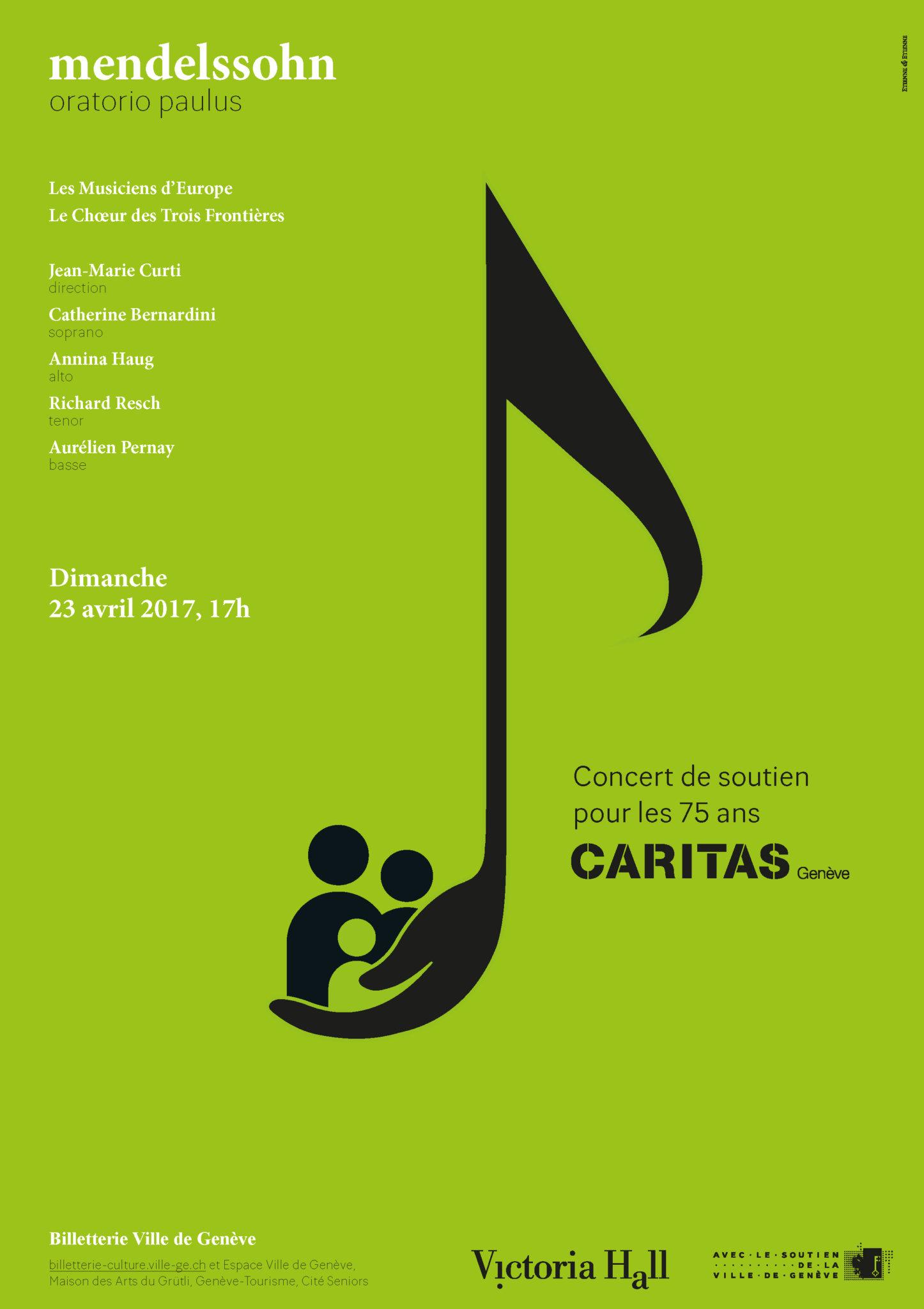 EtienneEtienne orchestre une campagne pour Caritas