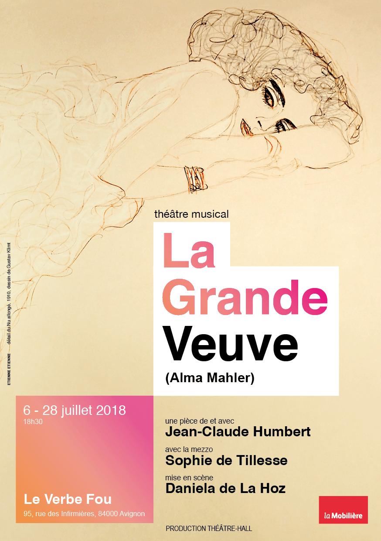 """EtienneEtienne signe l'affiche de """"La Grande Veuve (Alma Mahler)"""""""