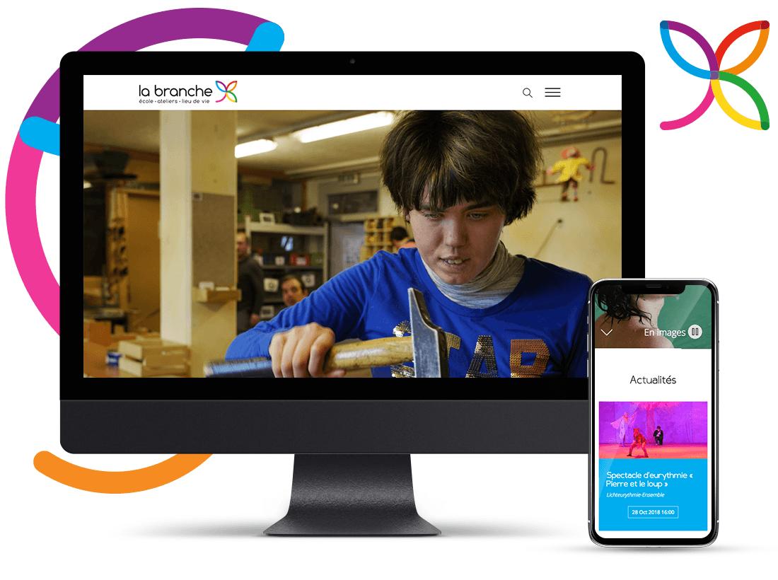 EtienneEtienne réalise le nouveau portail web de La Branche