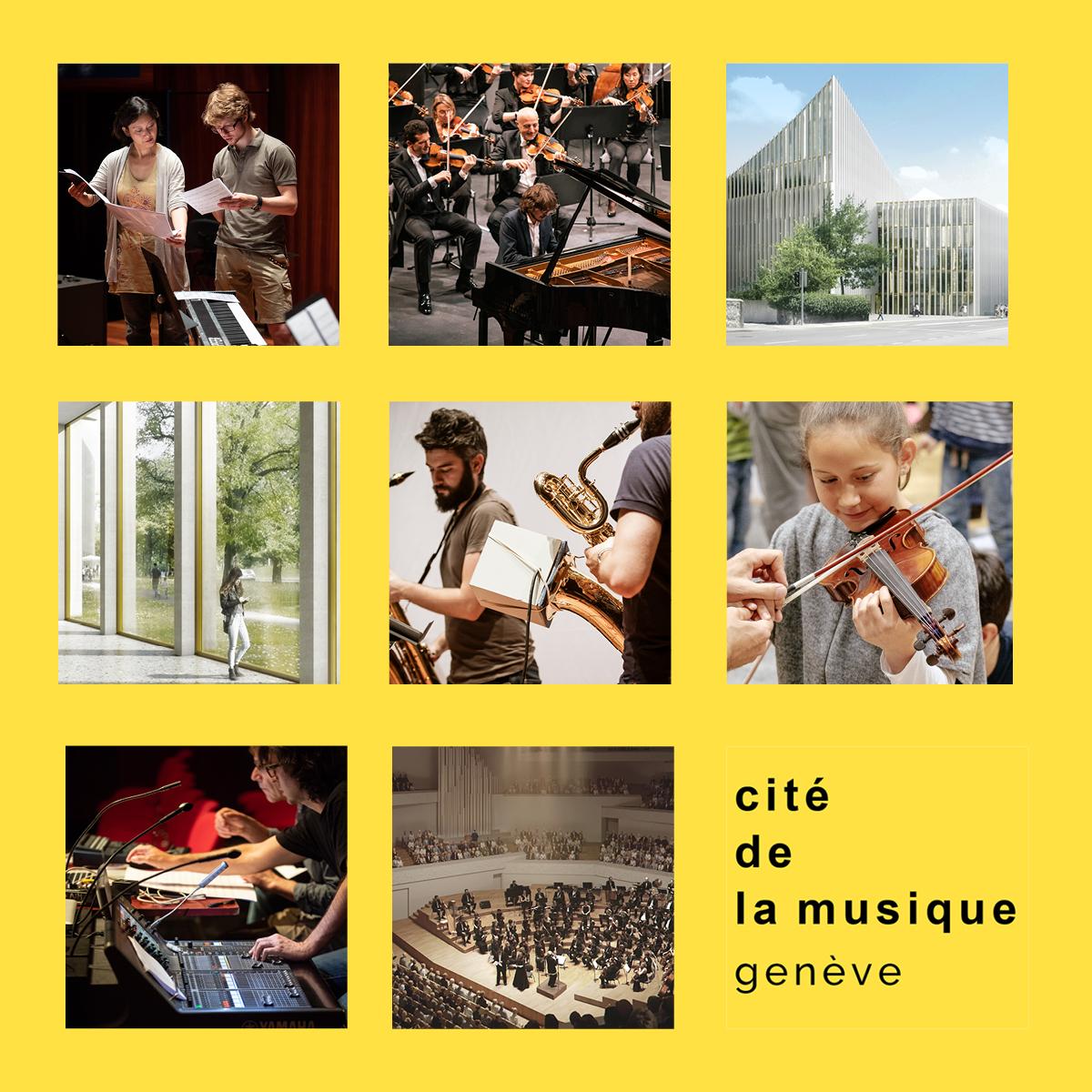 EtienneEtienne vibriert für die Cité de la Musique de Genève