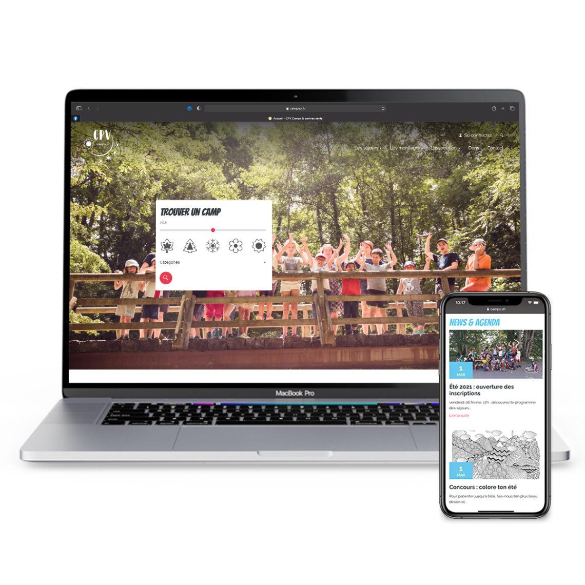 Le site internet du CPV fait peau neuve avec EtienneEtienne