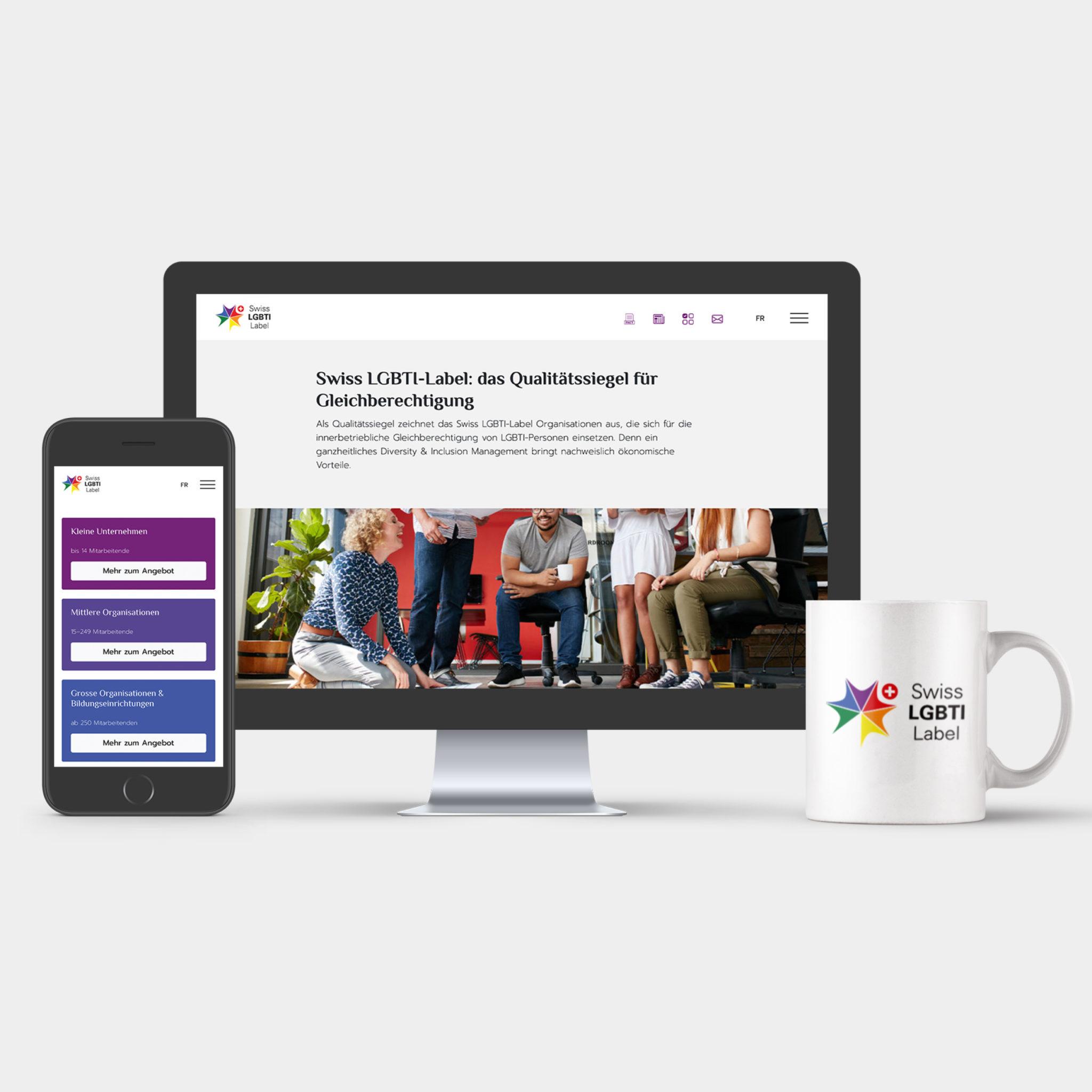 Une nouvelle vitrine web pour la Swiss LGBTI-label avec EtienneEtienne