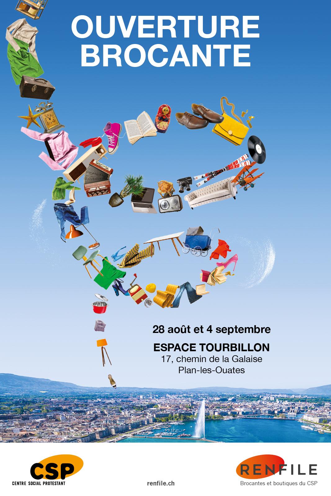 EtienneEtienne signe la campagne d'ouverture de la nouvelle brocante Renfile