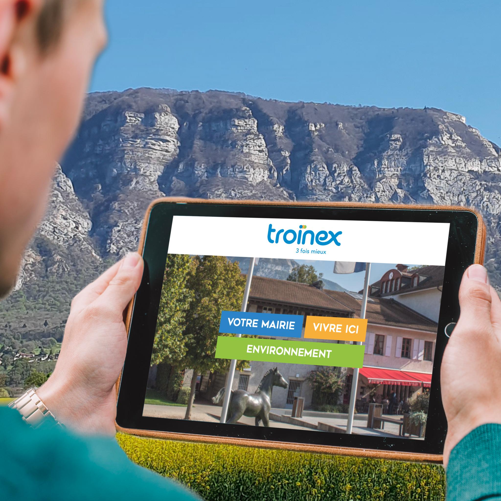 Nouvel écosystème digital pour Troinex